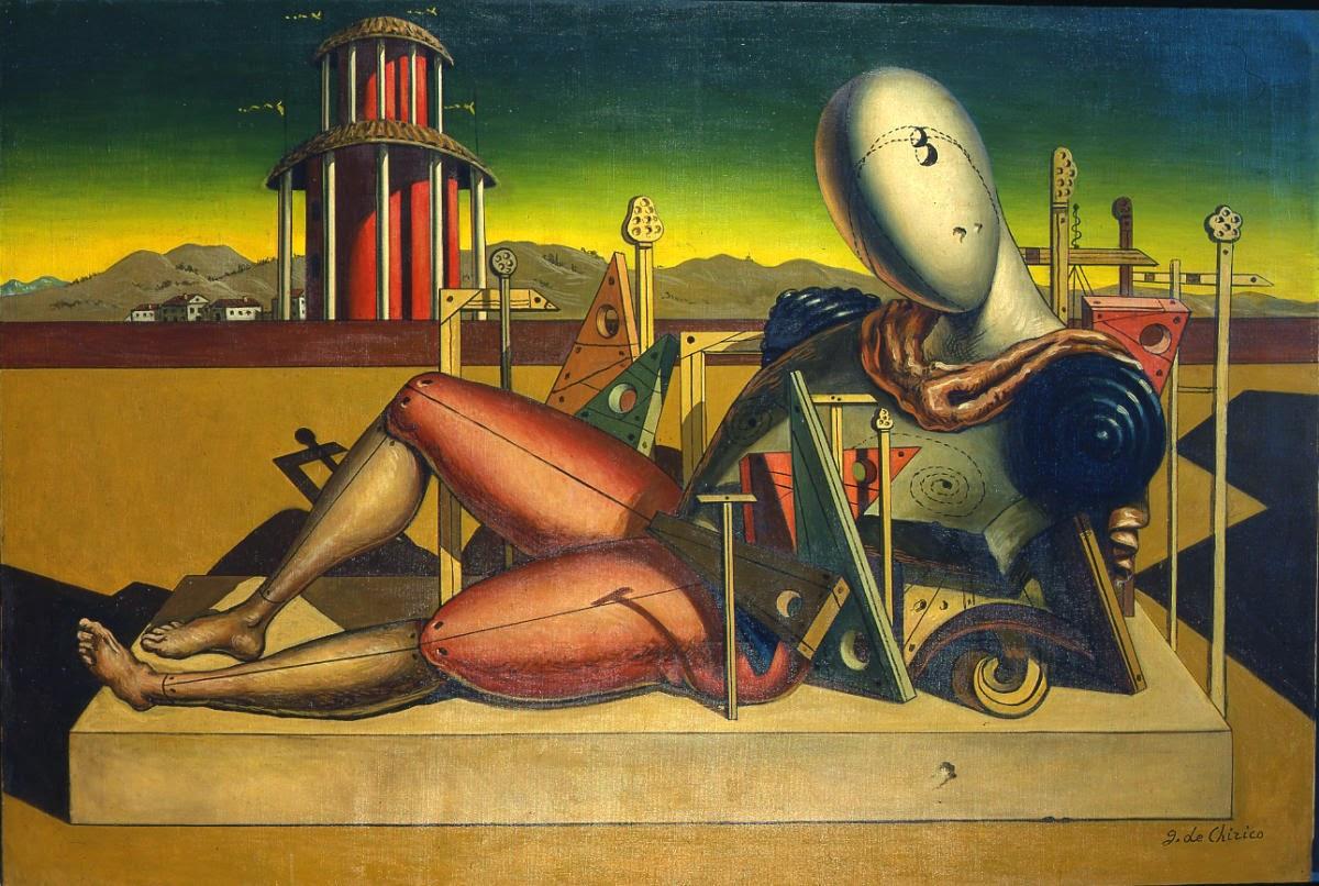 Trabalhador Fatigado - Giorgio de Chirico