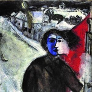 Marc Chagall – Entre chien et loup